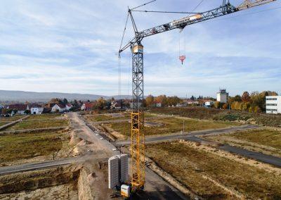 Baufortschritt November 2018