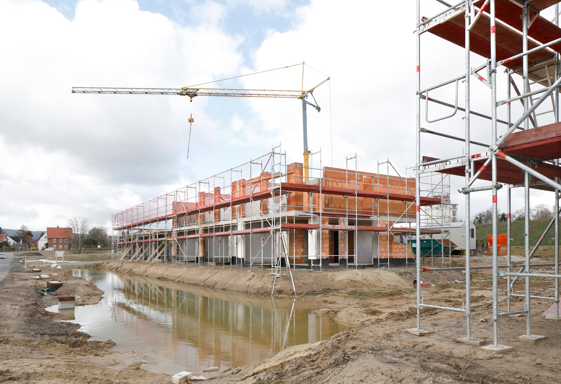 Baufortschritt März 2019