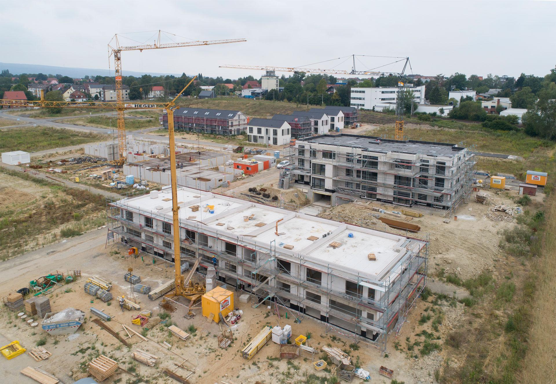 Baufortschritt Juli 2019