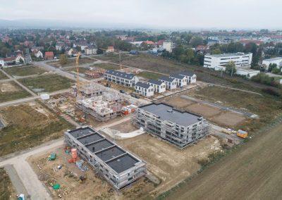 Baufortschritt Oktober 2019