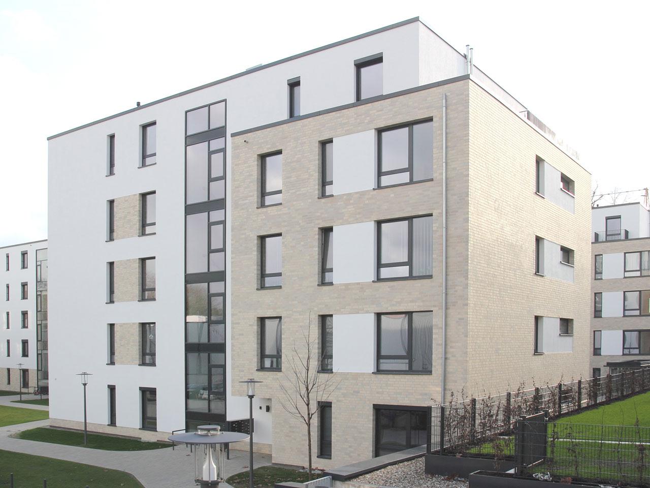 Eichenpark Langenhagen fertiges Gebäude (Stand Januar 2018)