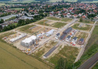 Baufortschritt Juni 2019